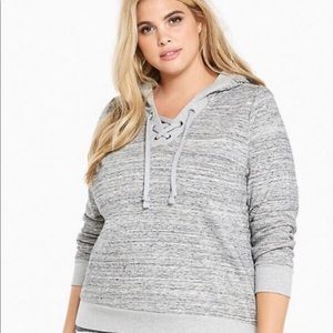 Torrid Gray Sweatshirt